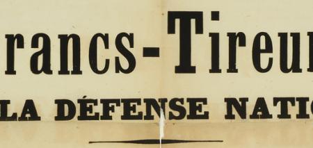 Arrêté du préfet de l'Orne pour la formation  de corps-francs et de francs-tire…