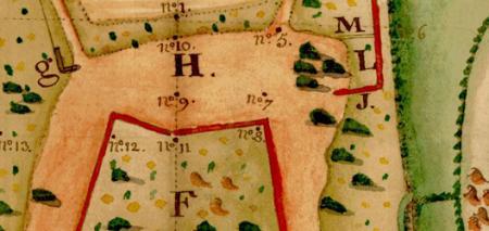 Plan du camp de Bierre à Merri